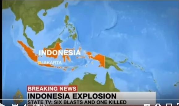 Jakarta Bomb Attack: 6 Explosions, Gunfire Rock Indonesian Capital, Multiple Victims