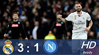 Real Madrid vs Napoli 3 - 1 All Goals & Highlights Champions League 15.02.2017 HD