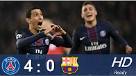 Paris Saint Germain vs Barcelona 4-0 All Goals Extended& Highlights - UCL- 14/12/2017 [HD]