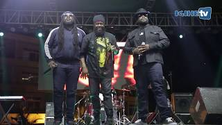 Morgan Heritage performing at Fiesta Rwanda