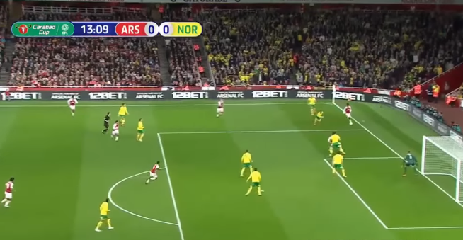 Arsenal vs Norwich City 2-1 All Goal & Highlight Extended (EPL Cup) 2017/18