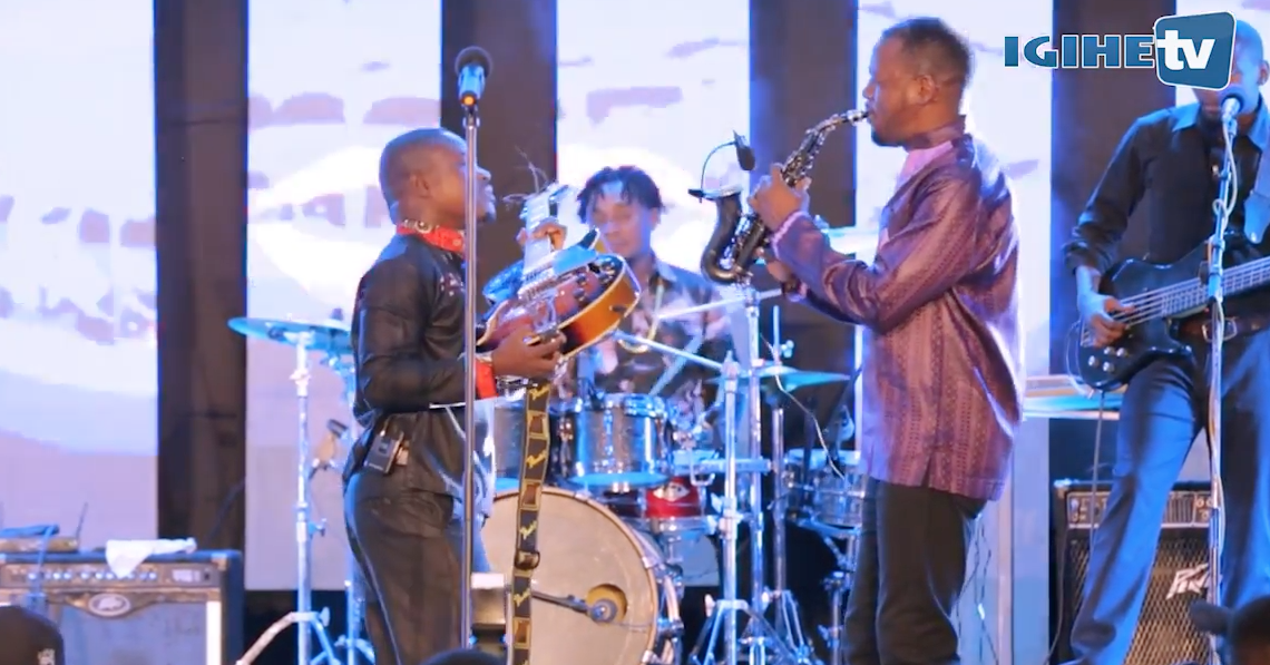Isaiah Katumwa and Andy Bumuntu at the Kigali Jazz Junction Season III, Edition 6 (Highlights)